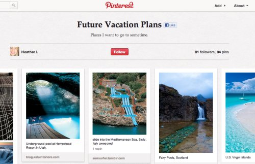 Travel PR Agency Highlights the Value of Pinterest for Travel Brands
